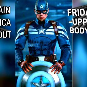 Free - Chris Evans | Captain America Workout | Friday Upper Body | Marvel's Infinity Wars