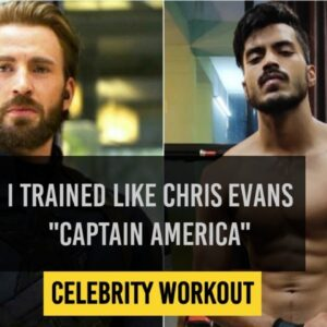I trained like Chris Evans | Captain America Workout | Avengers (end game) | Celebrity workout 🇮🇳