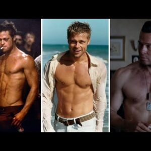 Brad Pitt body Workout, fitness and diet, How to Get A Body Like Brad Pitt