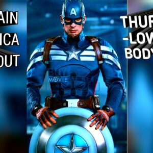 Free- Chris Evans| Captain America Workout| Thursday Lower Body| Planet Fitness|Marvel Infinity Wars