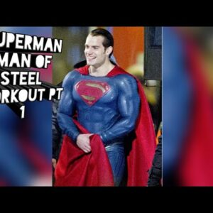 Free - Superman Man of Steel Workout pt 1 - Henry Cavill - Grabthebarfitness - Justice League