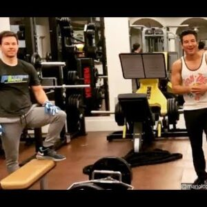 Mark Wahlberg and Mario Lopez Under Fire for Joint Workout Amid Coronavirus Lockdown