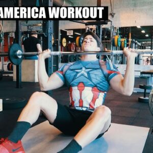 Chris Evans - Captain America Workout | Natural Bodybuilder VS Captain America's Workout