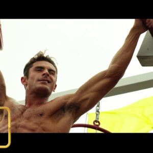 Bay Watch - Zac Efron Training Scene HD