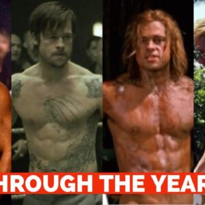 Brad Pitt Body Transformation