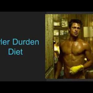 Brad Pitt Fight Club Workout & Diet: Tyler Durden Routine