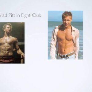 Brad Pitt Training for Fight Club