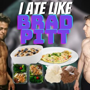 HOW MANY EGGS FOR BREAKFAST? | I Ate Like Brad Pitt For Fight Club For A Day | This Was Crazy!