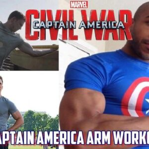 Captain America Arm Workout | Tough Like The Toonz: EP 10