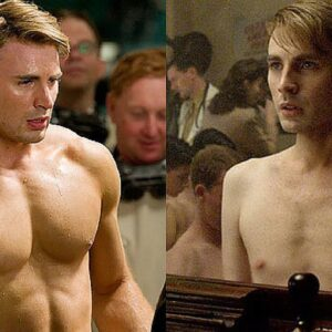 CAPTAIN AMERICA CHRIS EVANS ARM WORKOUT!