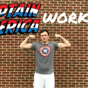 CAPTAIN AMERICA CHRIS EVANS HIIT WORKOUT - 4th of July Tribute