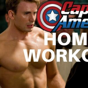 Captain America Home Workout