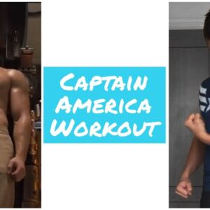 Captain America Workout (Chris Evans) - SUPERHERO TRAINING