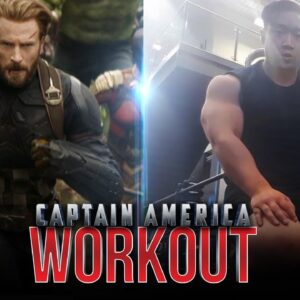 CAPTAIN AMERICA Workout | Chris Evans Workout | Regular Guy Fitness
