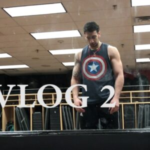 CAPTAIN AMERICA WORKOUT: VLOG 2