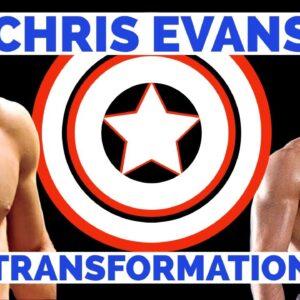 Chris Evans Captain America Body Transformation