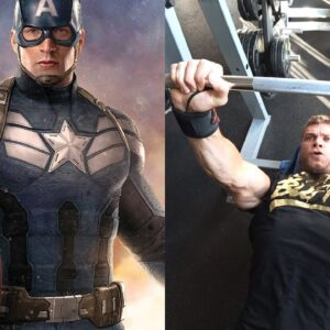 Chris Evan's CAPTAIN AMERICA WORKOUT