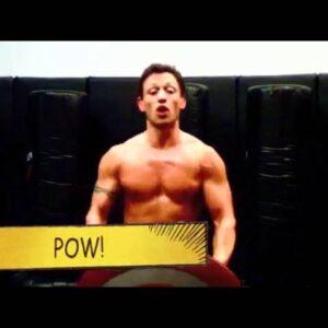 CHRIS EVANS-Captain America-Workout