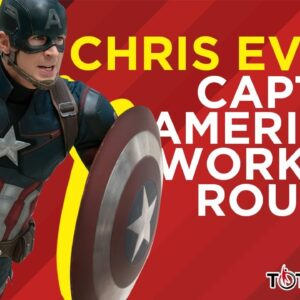 Chris Evans Captain America Workout Routine - Total Shape