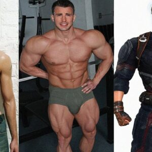 Chris Evans Workout and Body Transformation 1997 -2018 for Avengers 4