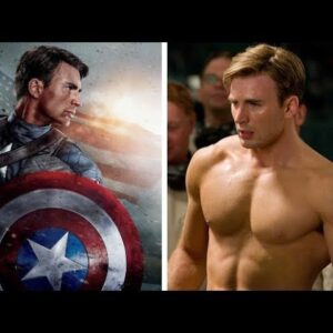 Chris Evans Workout Body Transformation
