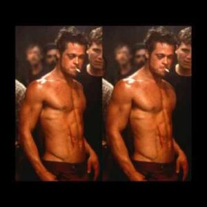 Does Brad Pitt Have the Ideal Body?