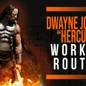 "Dwayne ""The Rock"" Johnson Hercules Workout Routine Guide"