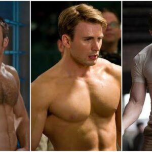"Chris Evans BODY WORKOUT 🏋️  for ""Avengers Endgame, Infinity war"" #CaptainAmerica #SteveRogers"