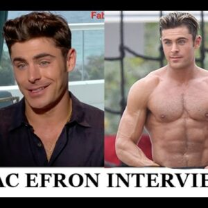 Zac Efron Explains His Workout & Diet in Funny Interview with Fab TV | Baywatch