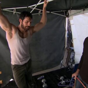 HENRY CAVILL ''MAN OF STEEL'' BEHIND THE SCENES