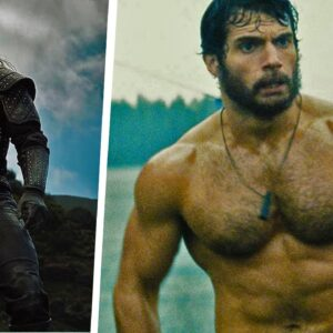 Henry Cavill - MUSCLES OF SUPERMAN | The Witcher | Man of Steel