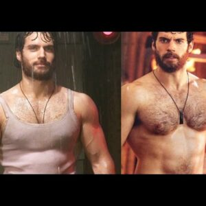 Henry Cavill - SUPERBODY OF SUPERMAN | Man of Steel | Justice League