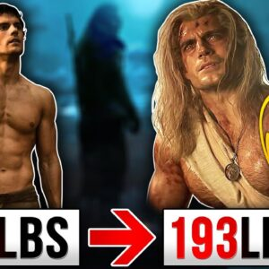 "Henry Cavill ""Witcher"" Workout & Diet! 