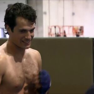 Henry Cavill Workout «Man of Steel» Behind The Scenes! Amazing!