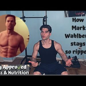 How Mark Wahlberg Stays Ripped at 48!