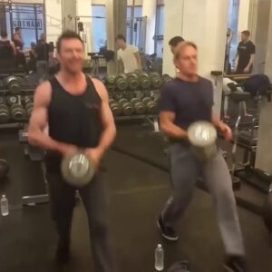 Hugh Jackman Logan Workout