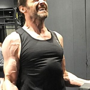 "HUGH JACKMAN WORKOUT FOR ""LOGAN WOLVERINE""  {2017}"
