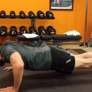 Hugh Jackman Workout In Gym