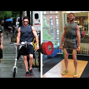 Hugh Jackman Workout - The Wolverine