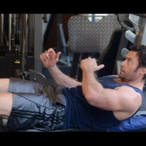 Hugh Jackman - Workout(Muscle Factory)