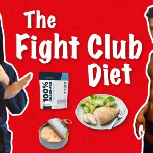 I Ate Like Brad Pitt For A Day (Fight Club Diet)