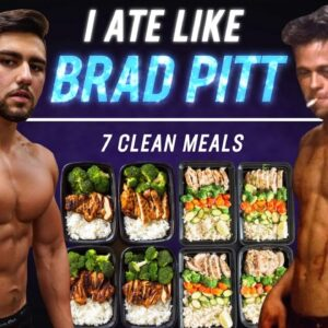 I Ate Like Brad Pitt For A Day