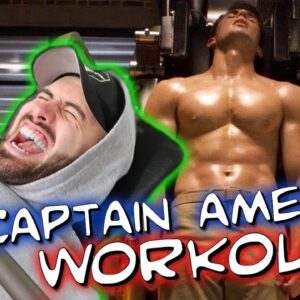I Destroyed Chris Evans CAPTAIN AMERICA WORKOUT