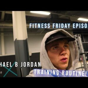 I DID MICHAEL B JORDAN's TRAINING!