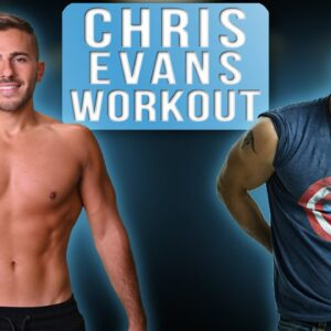 I Trained Like Chris Evans For One Week | Workouts to Get America's A**!