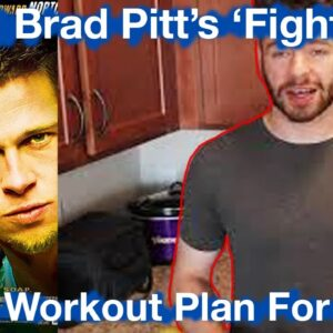 I Tried Brad Pitt's Fight Club Diet & Workout for A Day | Here's My Thoughts...