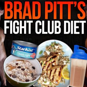 i tried BRAD PITT'S FIGHT CLUB diet & workout ..... (it cost me $2,000).
