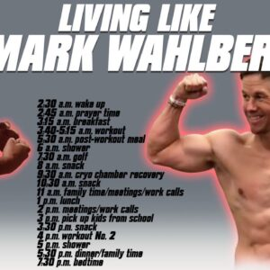 I TRIED LIVING LIKE MARK WAHLBERG | 4AM WORKOUT 24HR CHALLENGE