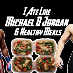I TRIED MICHAEL B JORDAN'S CREED DIET FOR A DAY ||
