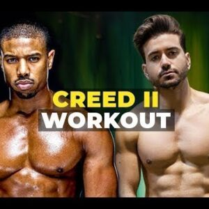 I Trained Like Michael B Jordan for Creed 2 ft  Corey Calliet   Men's Workout Routine